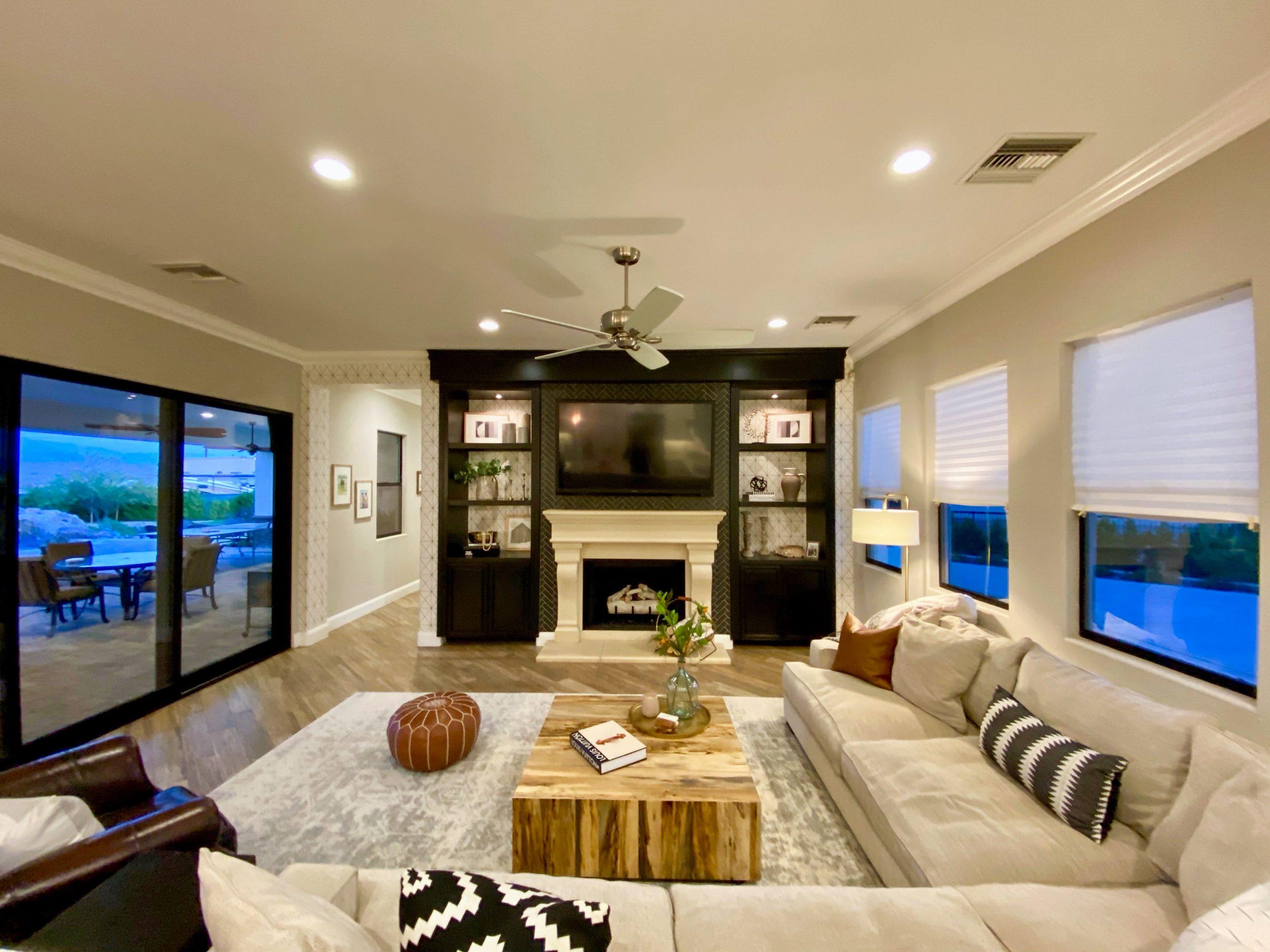 The Estate at Via Las Palmas - Family Room